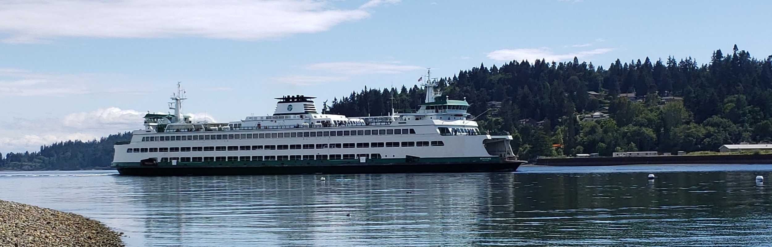 Based out of beautiful Bainbridge Island, WA.